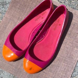 Kate Spade ♠️ jellies- size 7 - adorable !!